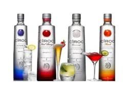 Vodka Ciroc Sabores Peach,coconut ,redberry, Pineapple750ml