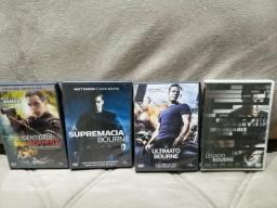 Coleção Jason Bourne 4 DVDs Originais
