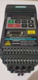 Inversor de frequência Siemens entrada 220v monofasica