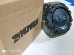 Relógio Original Skmei Marca Km percorrido Passos Calorias Prova de água Envio P/ Todo RS