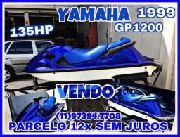 Jetski Yamaha GP 1200cc 135cv troco e parcelo 16x sem juros - 1999