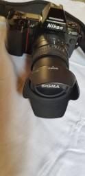 Nikon F801s + lente sigma 28-105mm