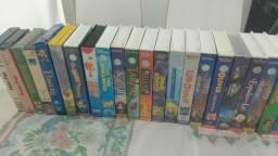 Filmes Infantil da Disney Original em VHS - (41 Unidades)