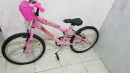 Bicicleta Infantil Aro 22 Rosa