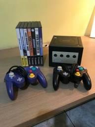 Game Cube Nintendo + 7 jogos