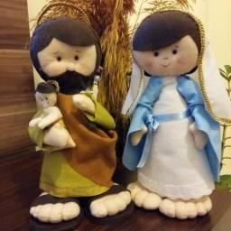Nossa Senhora e São José em Feltro