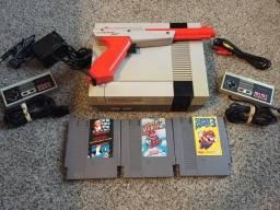 Nintendo 8 bits mais 3 jogos