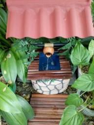 Fonte d'agua p.decoração casa sala varanda jardim churrascaria restaurante churrascaria yo