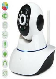 Câmera Ip Wireless Visão Noturna e Monitoramento