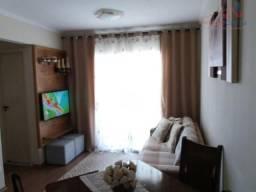Apartamento bem localizado com 67 metros, possui 2 dormitórios sendo  uma vaga.