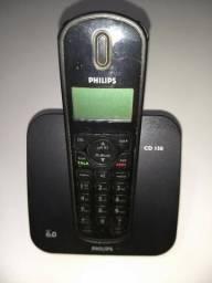 Kit Telefone Sem Fio Phillips Cd 150 Duo