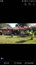 Rancho na Barragem do Rio São Lourenço