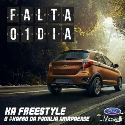 Lançamento do Ford Ka Freestyle Ford Moselli Veiculos - 2018