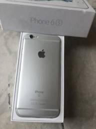 IPhone 6s 32GB Silver Sem marcas de uso