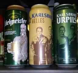 Kit 3 cervejas importadas