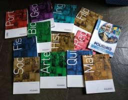 Coleção de livros poliedro 1° ano