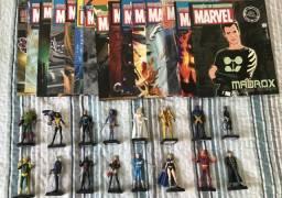 Miniaturas Eaglemoss Colecionáveis Marvel DC