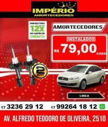 Amortecedores Fiat linea
