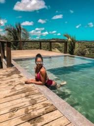 Casa de luxo 5 suites e wi-fi. 100 km de praia do Forte. Vista Paradisiaca