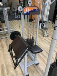 Máquina para bíceps scoot máquina trg