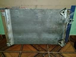 Condensador do ar condicionado Iveco stralis