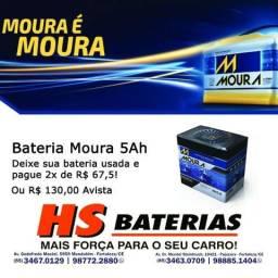 Bateria de Moto Moura 5 Ah Amperes