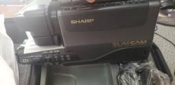 Filmadora VHS Sharp Slim