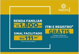 Grand Pátio 1- Lançamento Telesil (MCMV)- Desconto de 20 MIL!!!