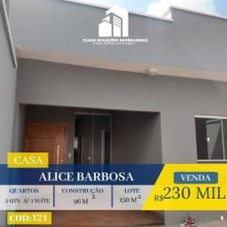 Casa De 3 Quartos - Alice Barbosa - Goiânia
