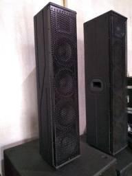 Caixas acústicas pró