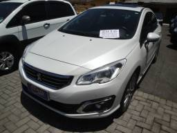 Peugeot 408 2016 Griffe THP Flex Aut 6 Marchas Teto Couro Abs 6 Air Bags Multimídia