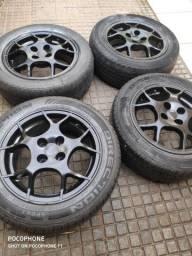 Rodas aro 15 c/ pneus