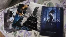 Livros saga fallen