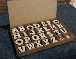 Conjunto Pedagógico Montessori- Alfabeto e Números móvel