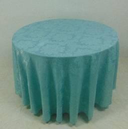 Toalhas para mesa - redonda (metragem 3m), Jacquard = R$ 70,00