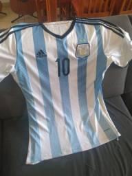 Camisa oficial seleção da Argentina *10* do Messi * novíssima