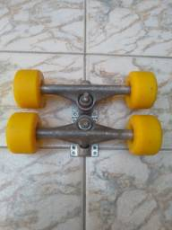 Truck e rodas skate