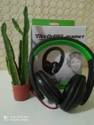 Headphone com fio ( Ideal para PC )