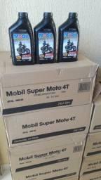 Oleo Mobil Moto 20w50 - 1 Litro - 19,99 R$, Caixa Com 24 Unidades 429,99 R$