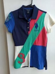 Blusa US Polo Assn (Camisa Polo) Slim Fit