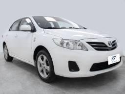 Toyota Corolla 1.8 Gli 2014 Branco Automático Completo