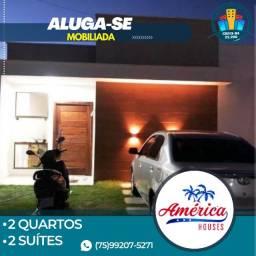 Casa América Houses Mobiliada, 2 Quartos 2 Suítes-Bairro Sim-Feira de Santana-Ba.