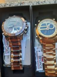 Relógio ORIGINAL Naviforce (Vai com Brinde)