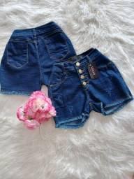 Short e saias jeans