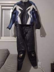 Título do anúncio: Conjunto de couro para motociclista Joe roket
