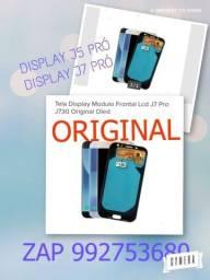 Display J5/J7 Pró Original Oled