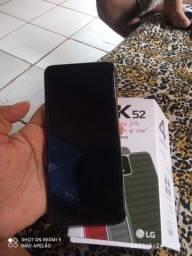 Vendo esse celular LG k52 com 64 gigas sem marca de uso com todos acessórios...