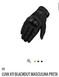 Luvas X11 Blackout Motociclismo