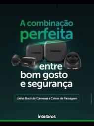 Pacote câmeras intelbras linha black