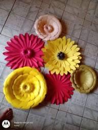 Flores em Papel Duplex/Canson